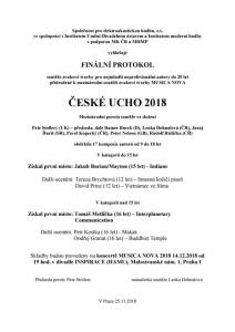 protokol Ucho